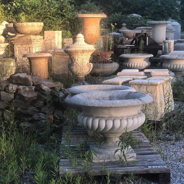 Caron Jardiniere - Vintage  #longshadowplanters #longshadowvintage #gardendesign